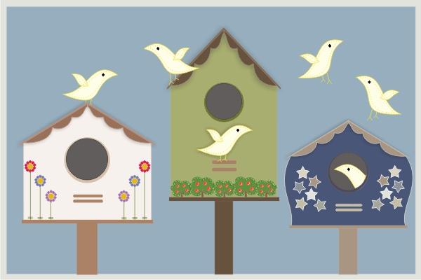 Send a webcard casa para pjaros - Casa para pajaros ...
